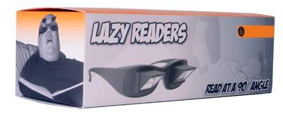 Winkelbrille zum Lesen im Liegen - 3