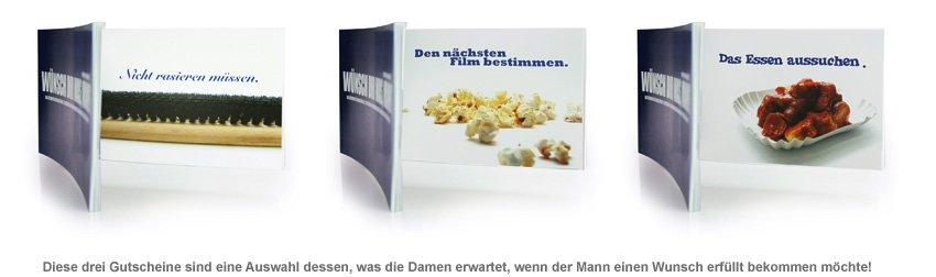 Gutscheinbuch für Männer - Wünsch Dir was - 2