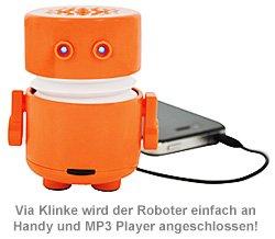 Mini Lautsprecher - Roboter - 4