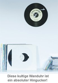 Wanduhr - Schallplatte - 2