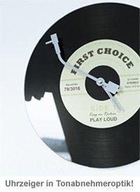 Wanduhr - Schallplatte - 3