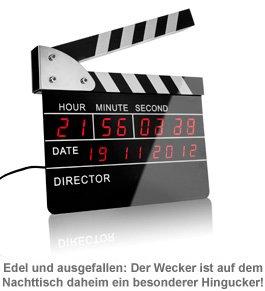 Regieklappe - Wecker - 2