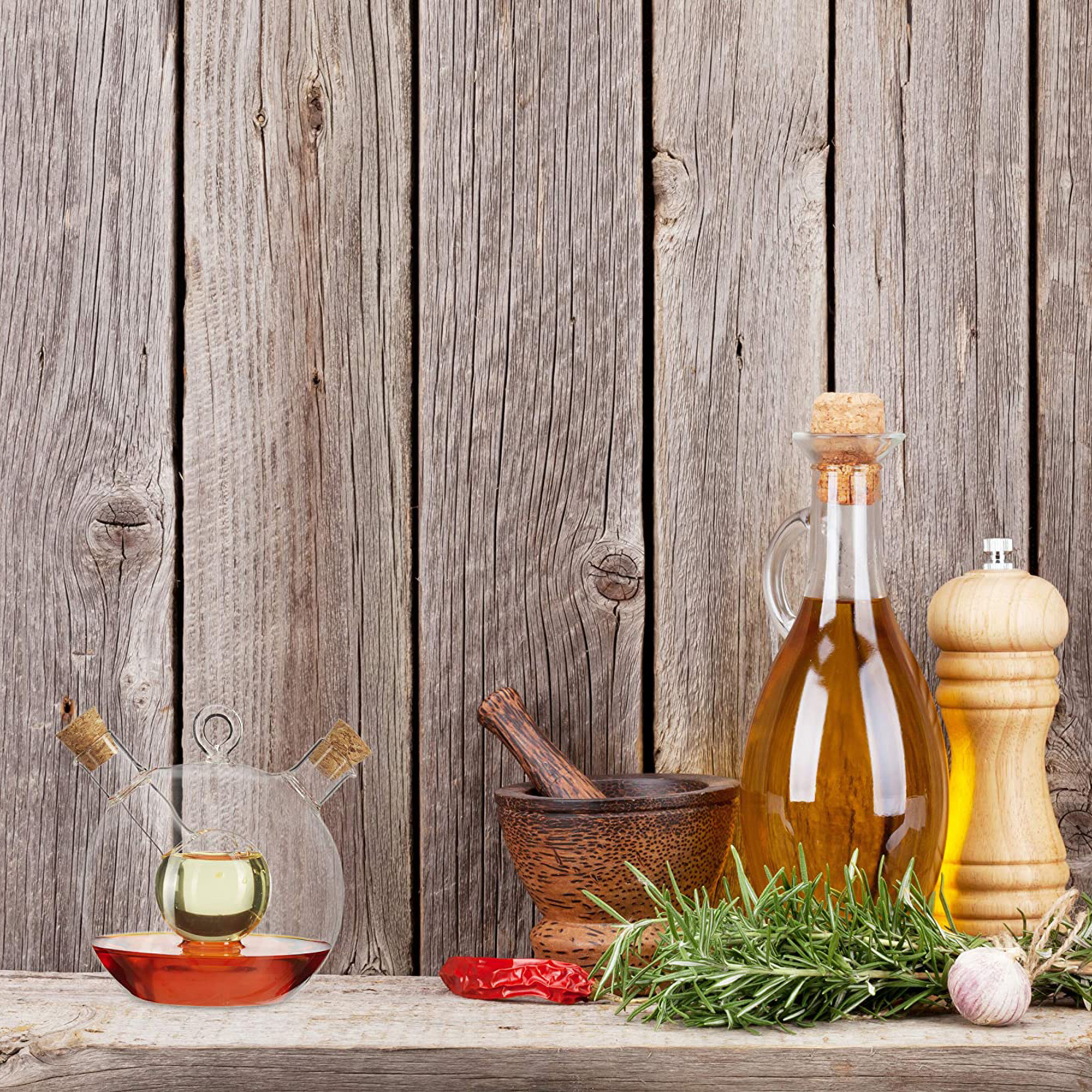 Essig und Öl Spender - 2