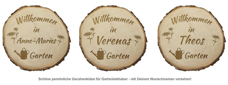 Baumscheibe mit Gravur - Garten - 2