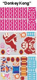 Donkey Kong Wandtattoo - 3