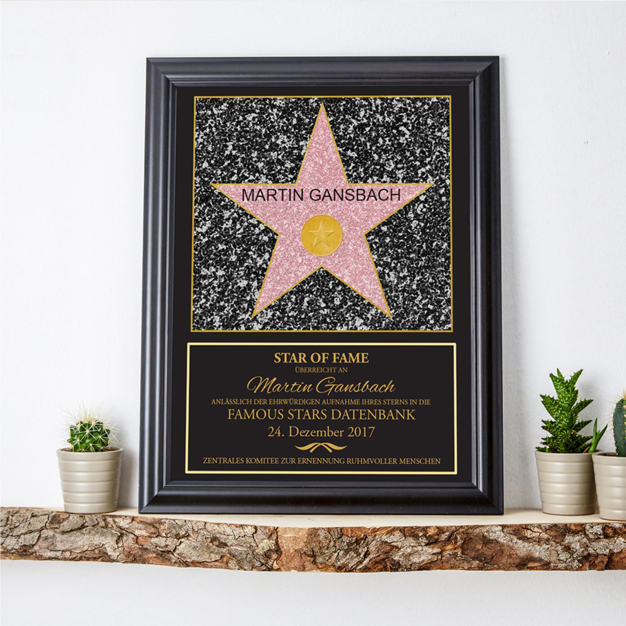 Star of Fame - personalisiertes Bild - 3