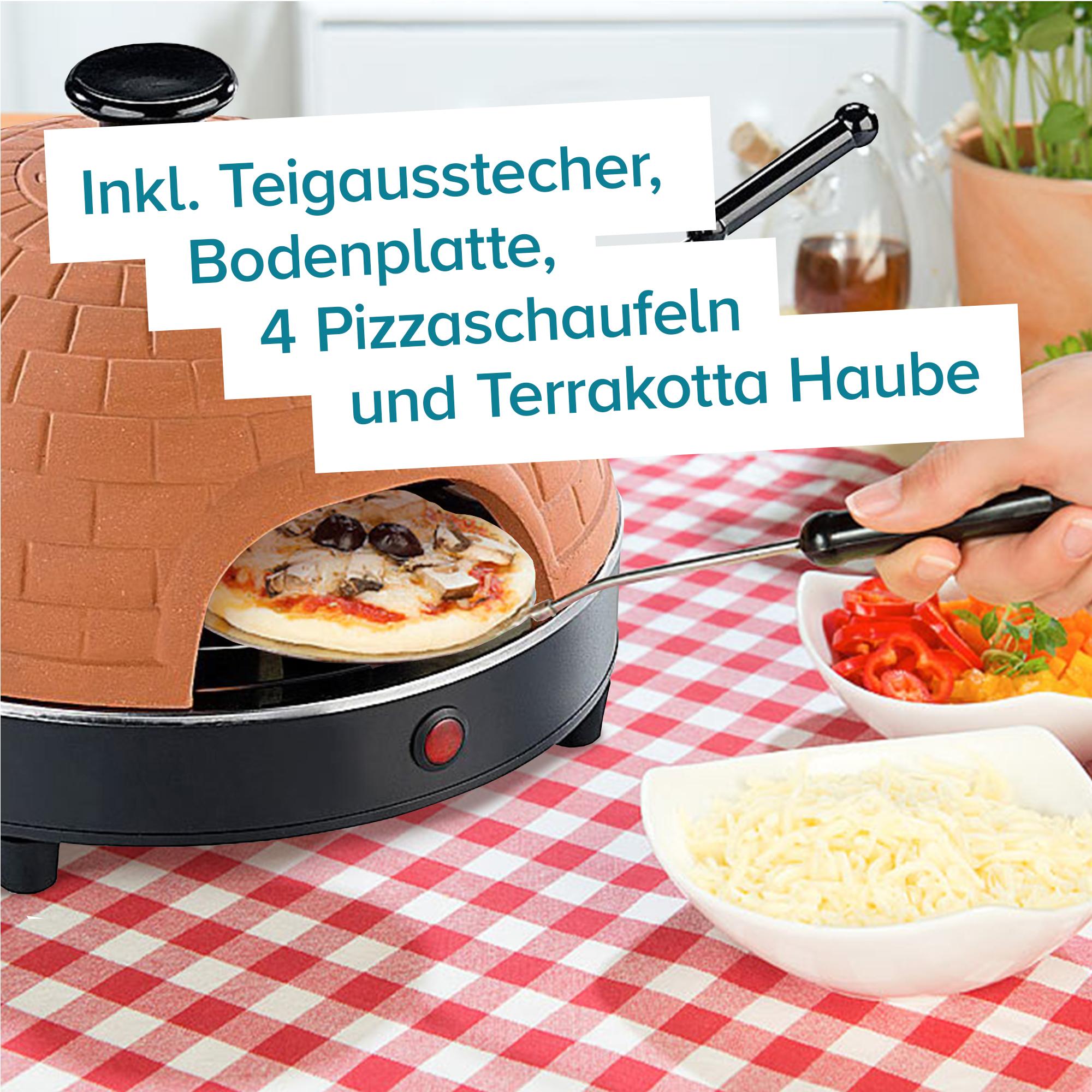 Mini Pizza Stein-Ofen - 3