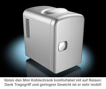 Mini Kühlschrank für 12/230 V - 2