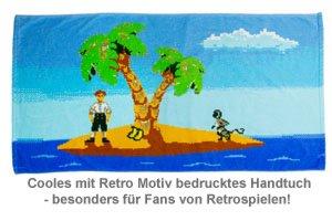 Retro Gamer Handtuch - 2