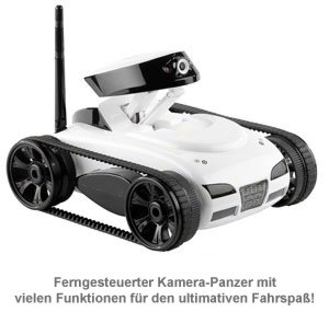 Spy Tank - Wireless Panzer mit Kamera - 5