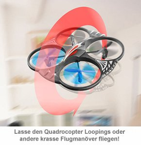 Quadrocopter - ferngesteuert - 2