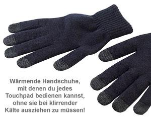 Handschuhe für Touchpad Bedienung - Größe M - 2