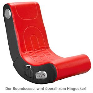 Soundsessel - rot - 2