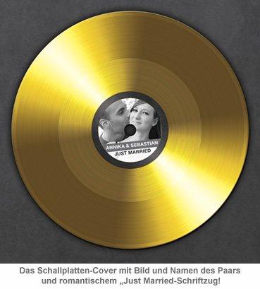 Goldene Schallplatte - Hochzeitsbild - 4