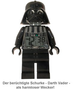 Lego Star Wars Wecker - Darth Vader - 3
