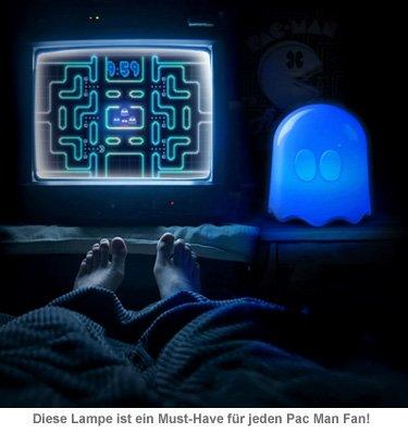 Pac Man Lampe - Geist - 2