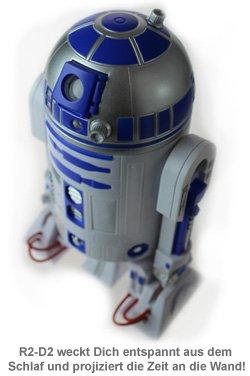 Star Wars R2D2 Wecker mit Zeitprojektion - 2