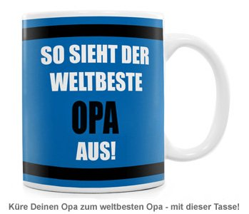 Tasse - Weltbester Opa - 2