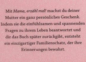 Erinnerungsalbum - Mama, erzähl mal! - 2