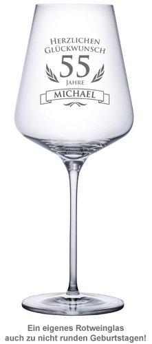 Weinglas zum Geburtstag - 2