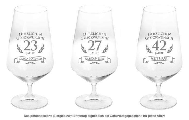 Bierglas zum Geburtstag - 2
