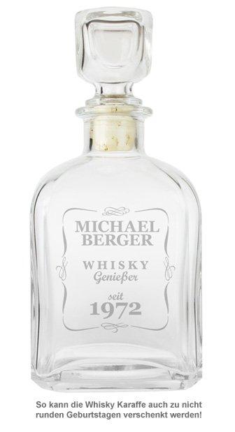 Personalisierte Whisky Karaffe - Klassisch - 2