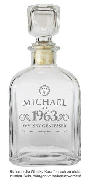 Personalisierte Whisky Karaffe - Elegant - 2