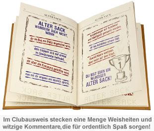 Clubausweis der Alten Säcke - 3