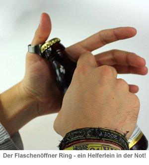 Flaschenöffner Ring - 22 mm Durchmesser - 3