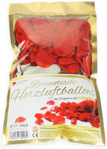Romantischer Liebesbeweis romantische herzluftballons tolle luftballons für verliebte