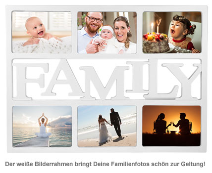 Bilderrahmen Family - 2
