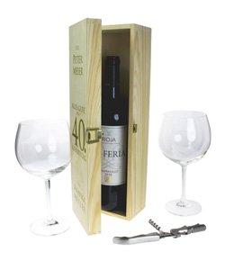 Personalisierte Weinkiste - Geburtstag - 3