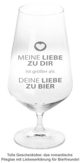 Bierglas - Liebe - 2
