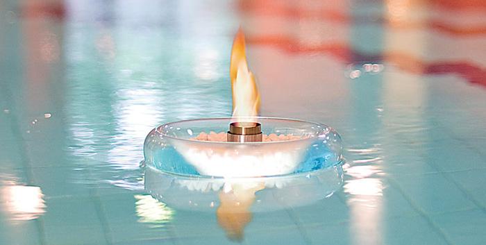 Schwimmende Feuerschale - 3