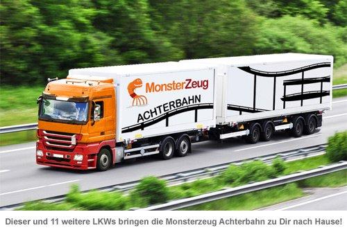 Vorgarten Achterbahn 2.14 Mio.-teiliger Bausatz - 6