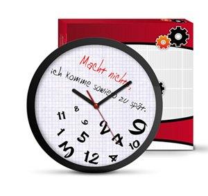 Wanduhr für zu spät Kommer - 3