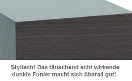 Holzuhr dunkel - 3