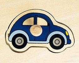 Personalisierbares Puzzle zum Stecken - Autos - 3