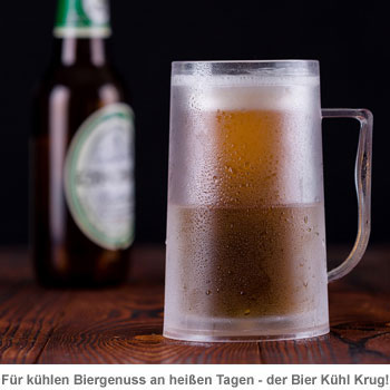 Doppelwandiger Bier Kühl Krug - 2