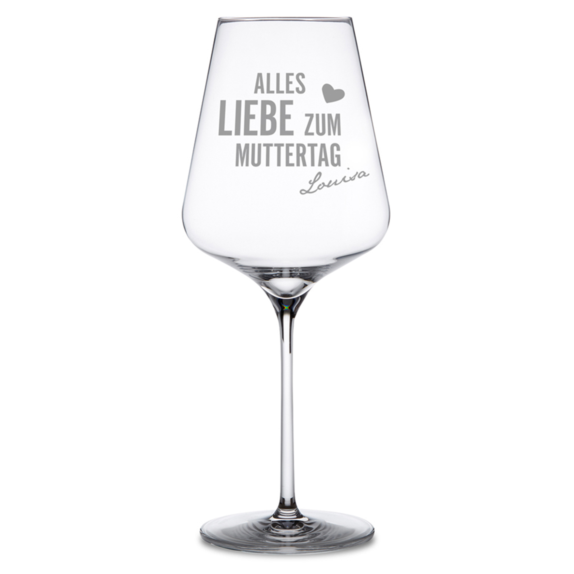 Personalisiertes Weinglas zum Muttertag - 2