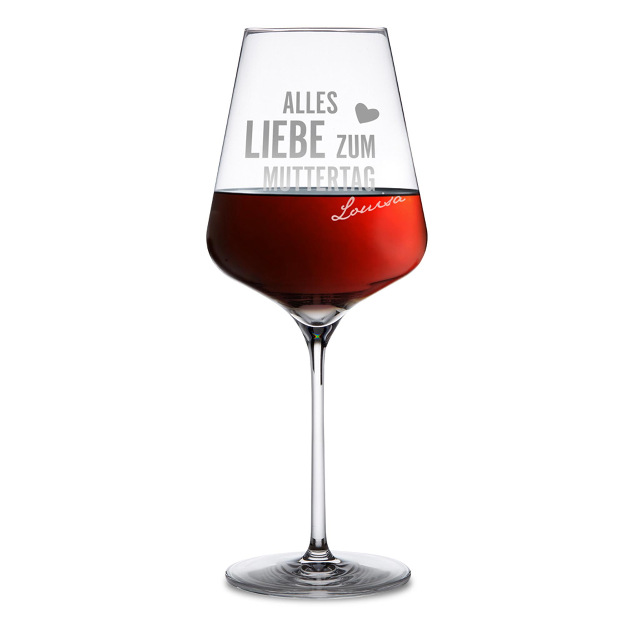 Personalisiertes Weinglas zum Muttertag - 3