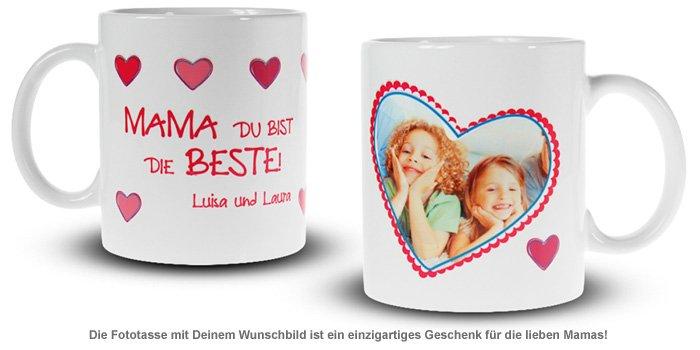 Fototasse - Mama ist die Beste - 2