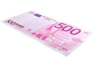 Handtuch 500 Euro Schein - 3