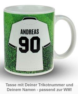 Fußball Tasse - Weltmeister - 3