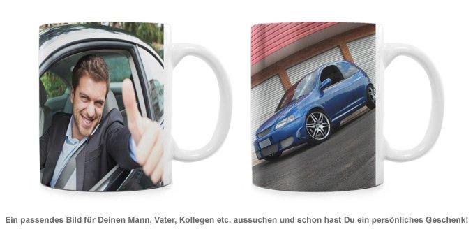Fototasse Mann - personalisiert - 2