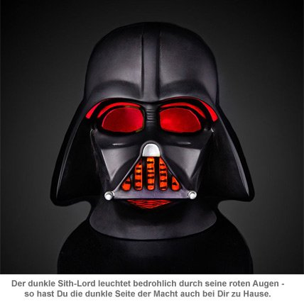 Star Wars 3D Lampe - Darth Vader - 2
