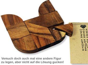 Holz Herz-Puzzle - Herz zur Hochzeit - 2