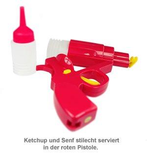 Senf- und Ketchup Spender - Pistole - 2