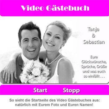Personalisiertes Video Gästebuch zur Hochzeit - Deluxe - 4