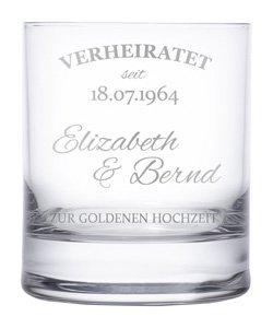 Whiskygläser zur goldenen Hochzeit - 3